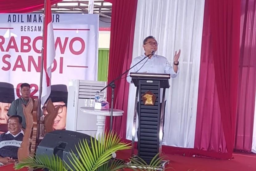 Ketua Umum Partai Amanat Nasional (PAN), Zulkifli Hasan