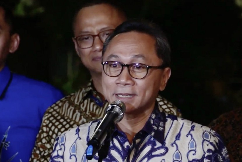 People's Consultative Assembly speaker and National Mandate Party (PAN) chairman Zulkifli Hasan
