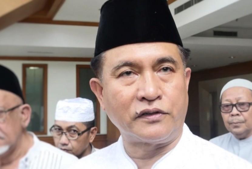Ketua Umum Partai Bulan Bintang, Yusril Ihza Mahendra