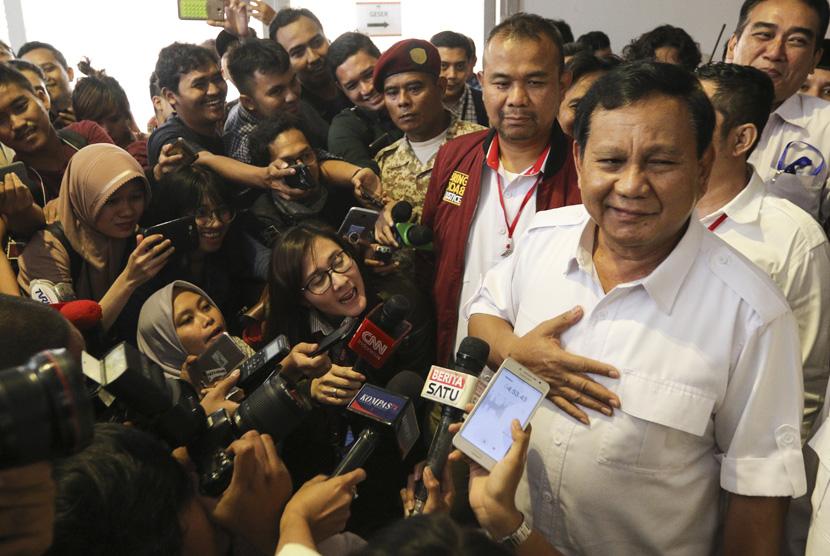 Ketua Umum Partai Gerindra Prabowo Subianto