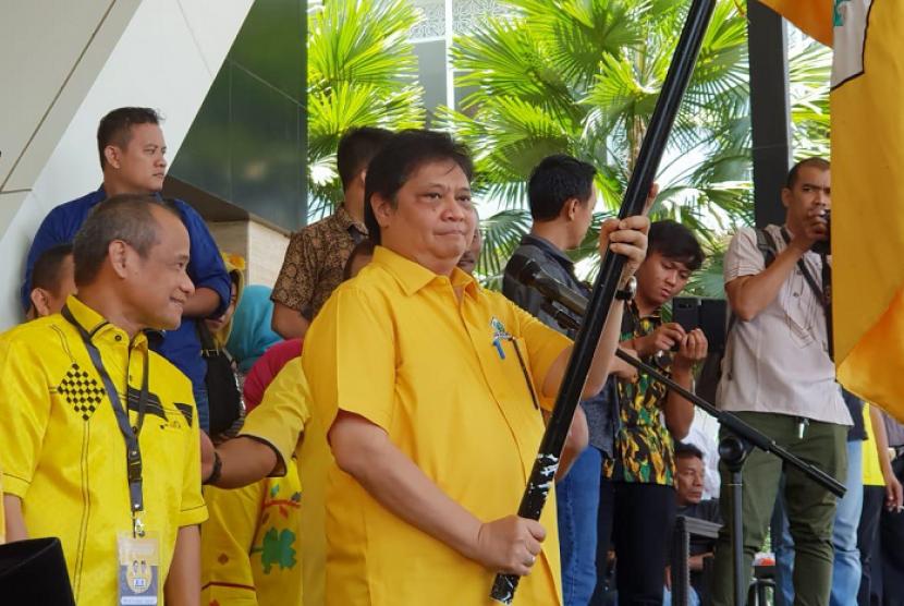 Ketua Umum Partai Golkar, Airlangga Hartanto