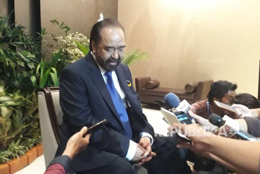 Ketua Umum Partai Nasional Demokrat (Nasdem), Surya Paloh