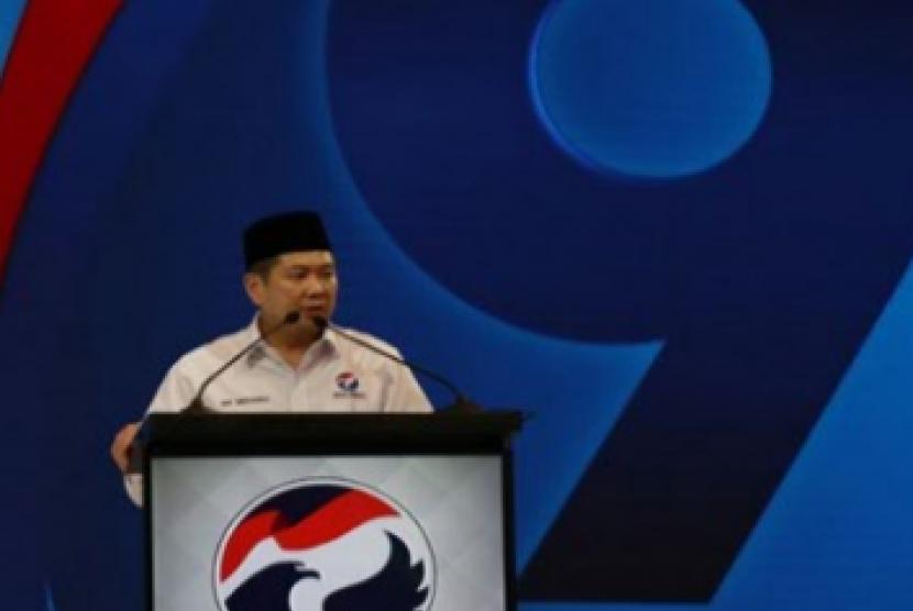 Ketua Umum Partai Perindo, Hary Tanoesoedibjo