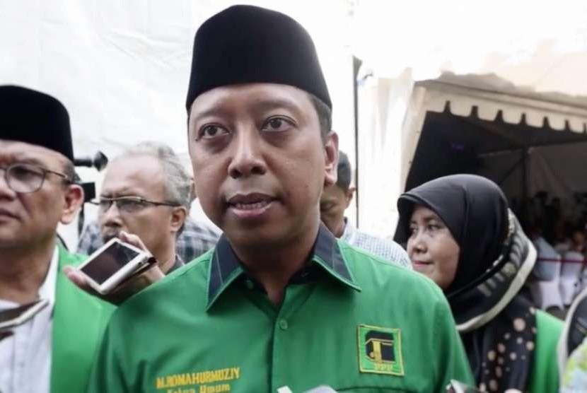 Ketua Ppp Diperiksa Kpk Picture: Romahurmuziy Penuhi Panggilan KPK