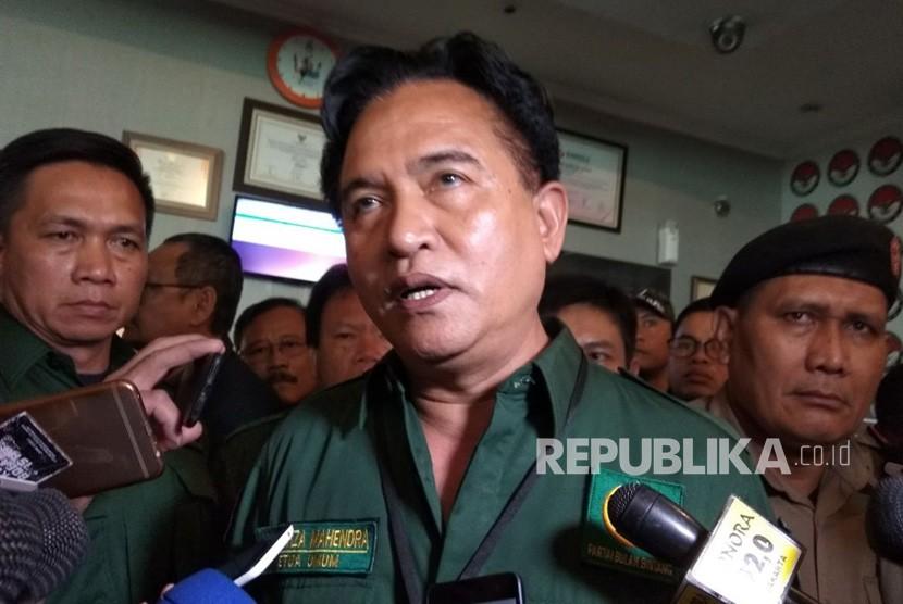 Ketua Umum Partai Bulan Bintang (PBB) Yusril Ihza Mahendra.