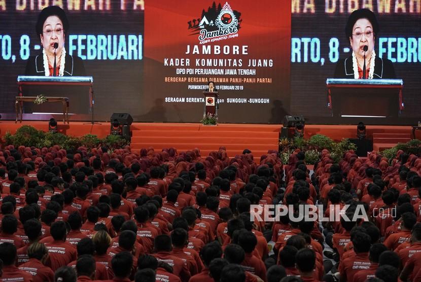 Ilustrasi Jambore Kader Komunitas Juang PDIP.