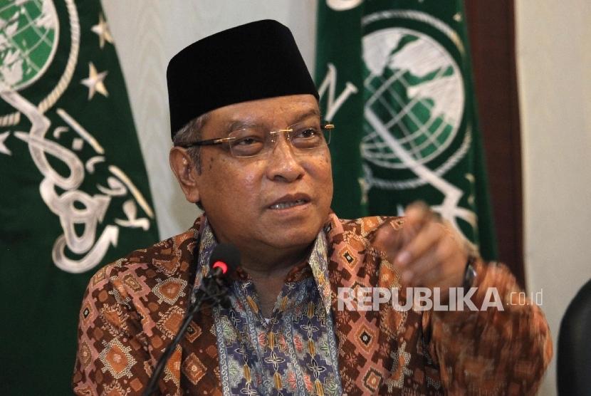 Ketua Umum Pengurus Besar Nahdatul Ulama (PBNU) KH Said Aqil Siroj