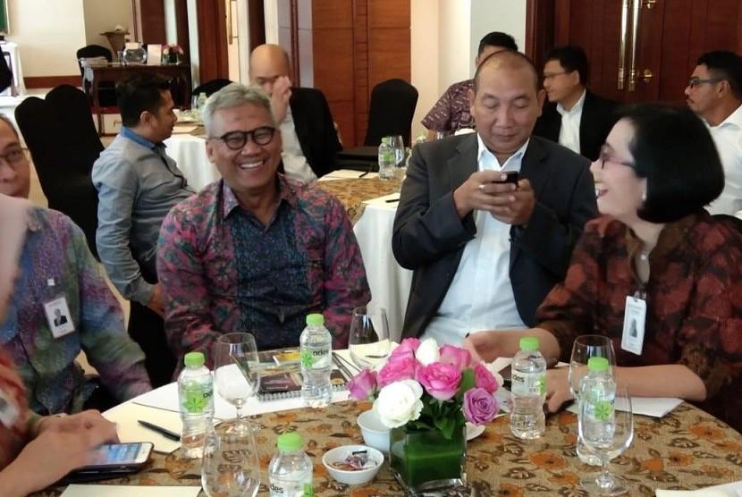 Ketua Umum Pengurus Pusat Ikatan Alumni Universitas Indonesia (Iluni UI) Arief Budhy Hardono