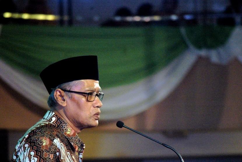 Ketua Umum Pimpinan Pusat (PP) Muhammadiyah, Haedar Nashir.