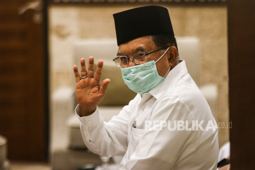 Ketua Umum PMI Jusuf Kalla.