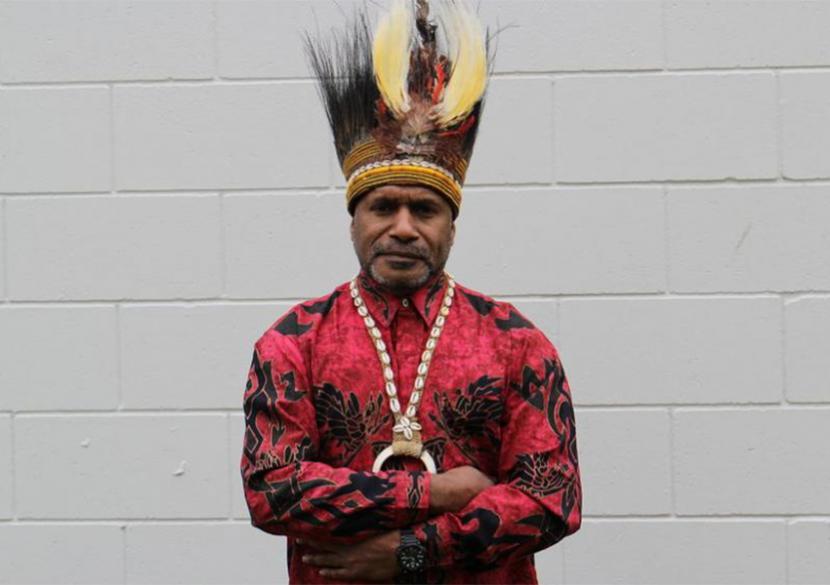 Ketua United Liberation Movement for West Papua (ULMWP), Benny Wenda.