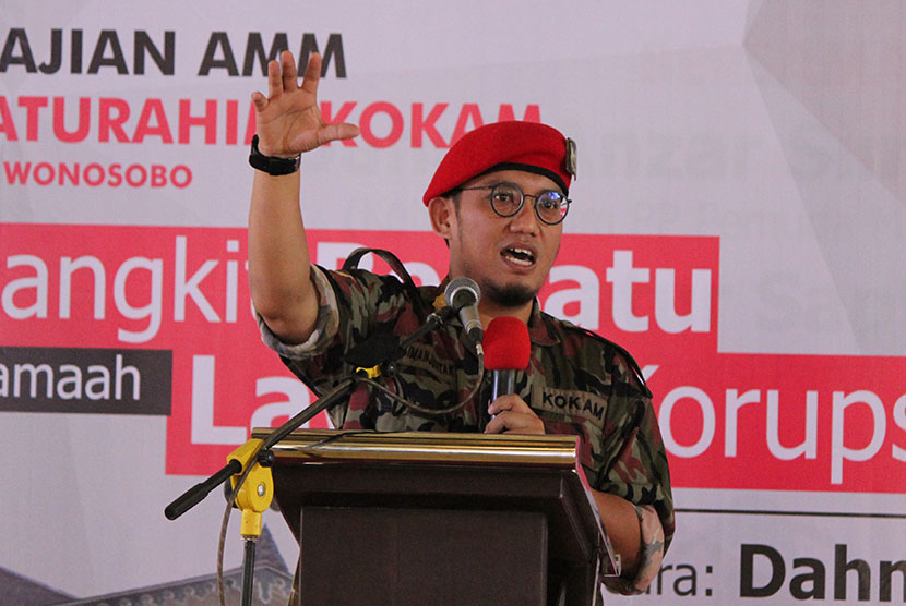 Ketum Pemuda PP Muhammadiyah Dahnil Anzar Simanjuntak