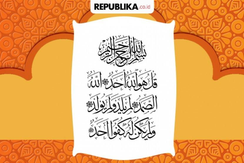 Khasiat Surat Al Ikhlas Republika Online