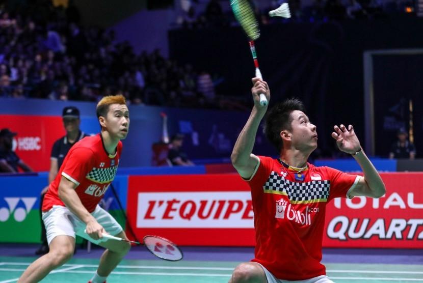 Persaingan Ganda Putra Grup A BWF Tour Finals Lebih Keras