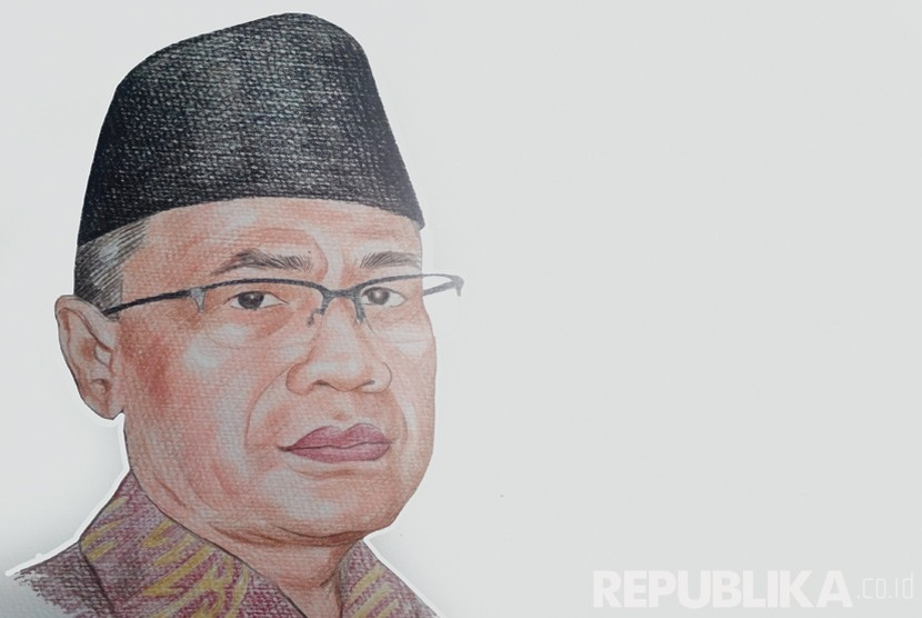 KH Haedar Nashir (Ilustrasi)