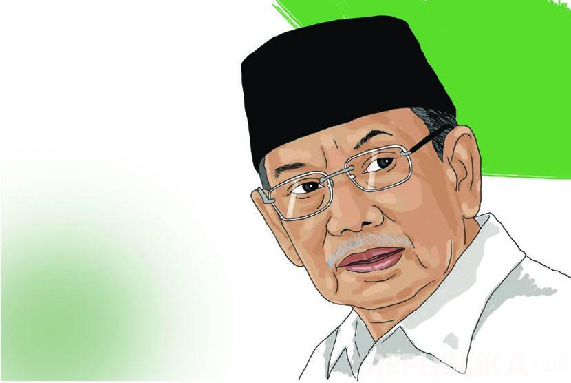 KH Hasyim Muzadi (Ilustrasi)