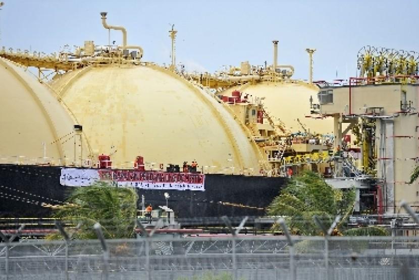 KIlang LNG (ilustrasi)