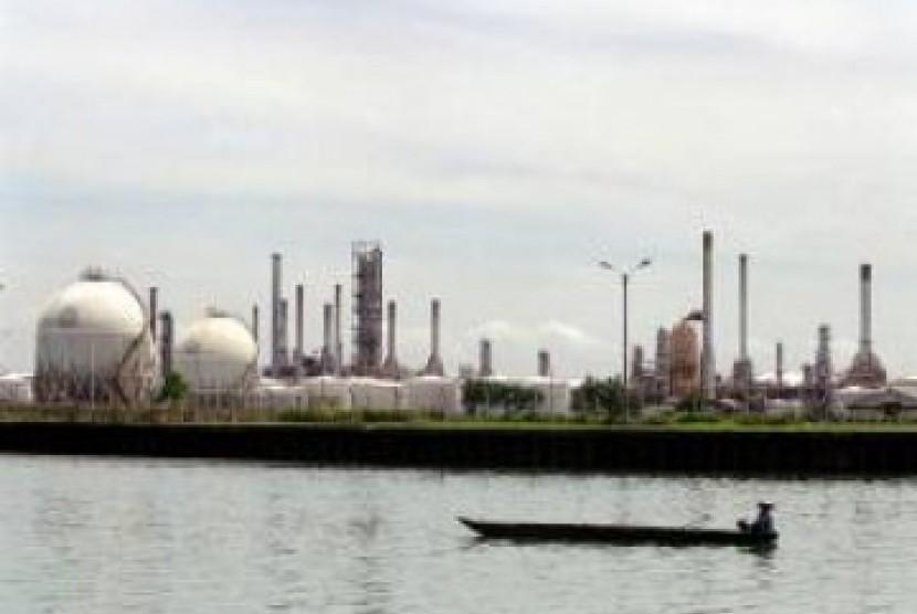 Kilang minyak Pertamina di Cilacap