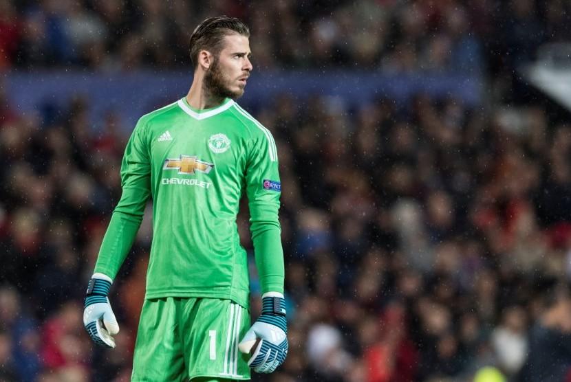 Kiper Manchester United, David De Gea.