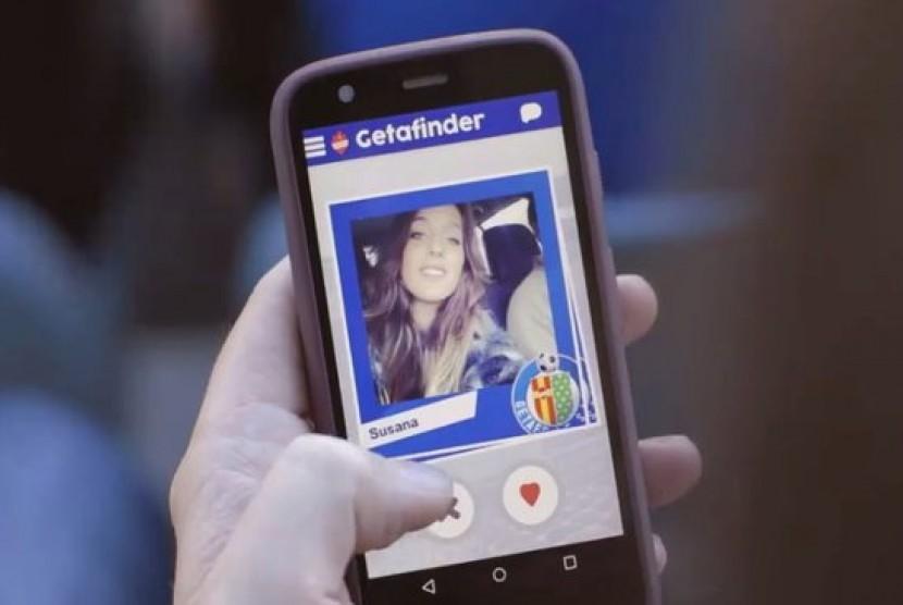 Klub sepak bola Getafe luncurkan aplikasi pencari jodoh  Getafinder