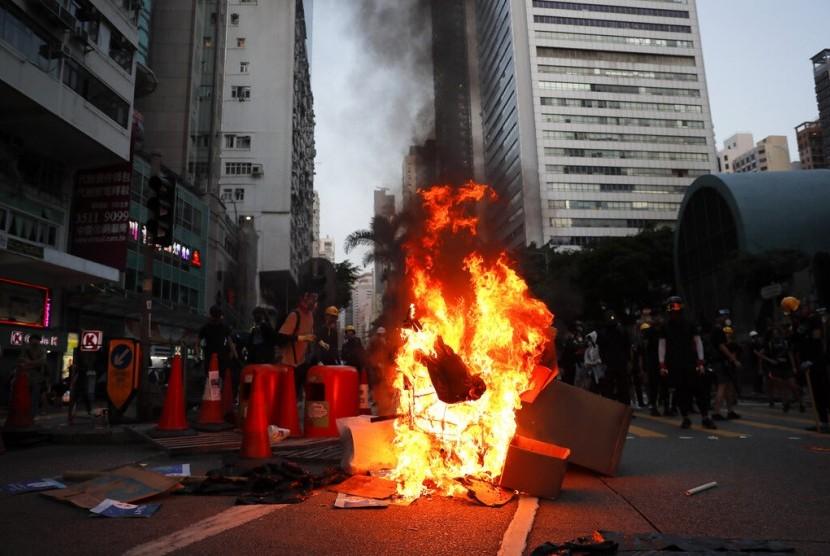 Pemerintah Hong Kong: Kekerasan Bukan Solusi Masalah