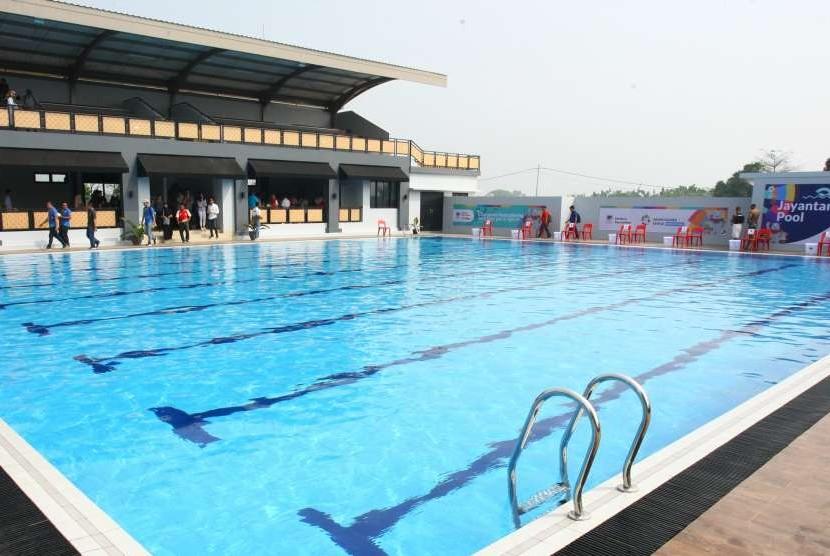 Kolam renang Asian Games 2018.