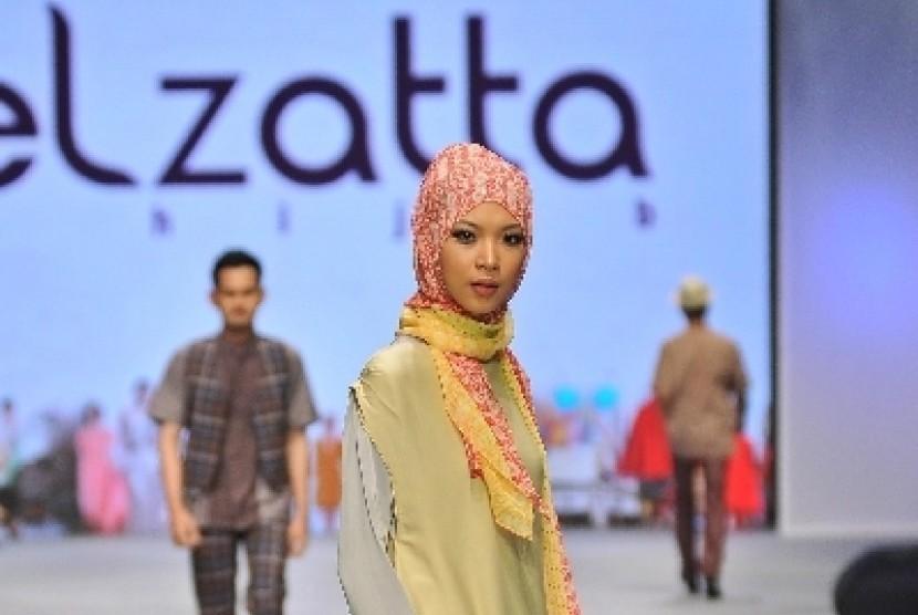 Koleksi hijab dari Elzatta.