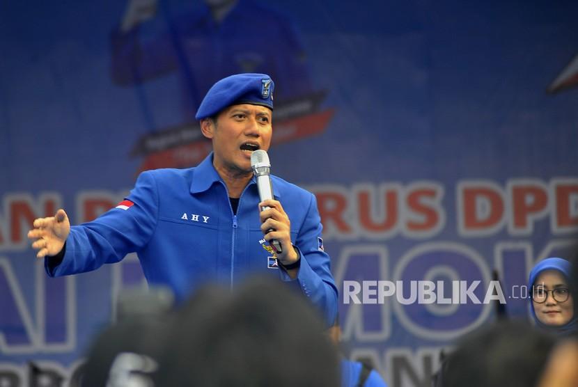 Komandan Satuan Tugas Bersama (Kogasma) Partai Demokrat Agus Harimurti Yudhoyono