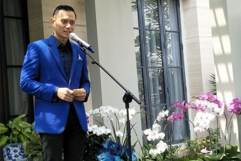 Komandan Satuan Tugas Bersama (Kogasma) Partai Demokrat, Agus Harimurti Yudhoyono (AHY).