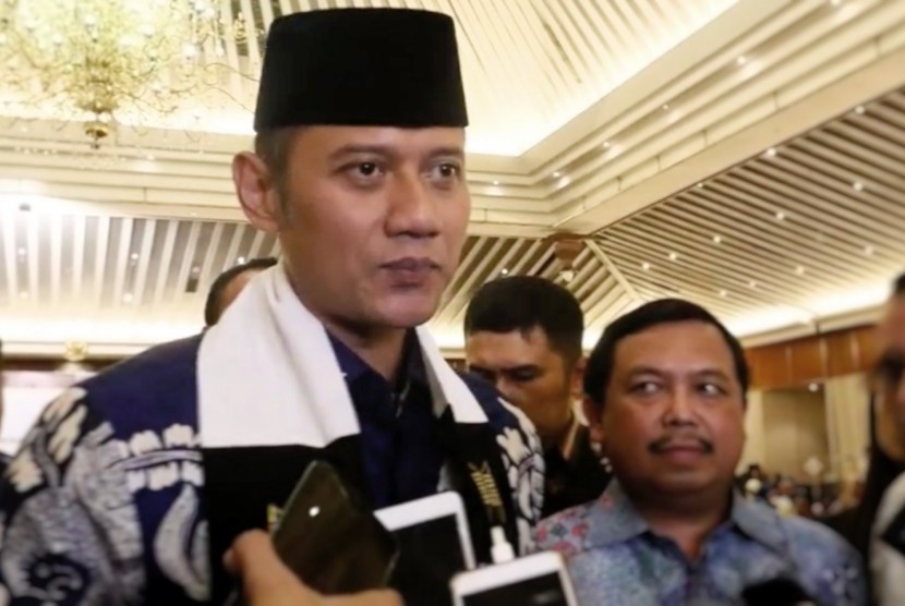 Chairman of the Joint Task Force Command (Kogasma) of the Democratic Party, Agus Harimurti Yudhoyono (AHY)