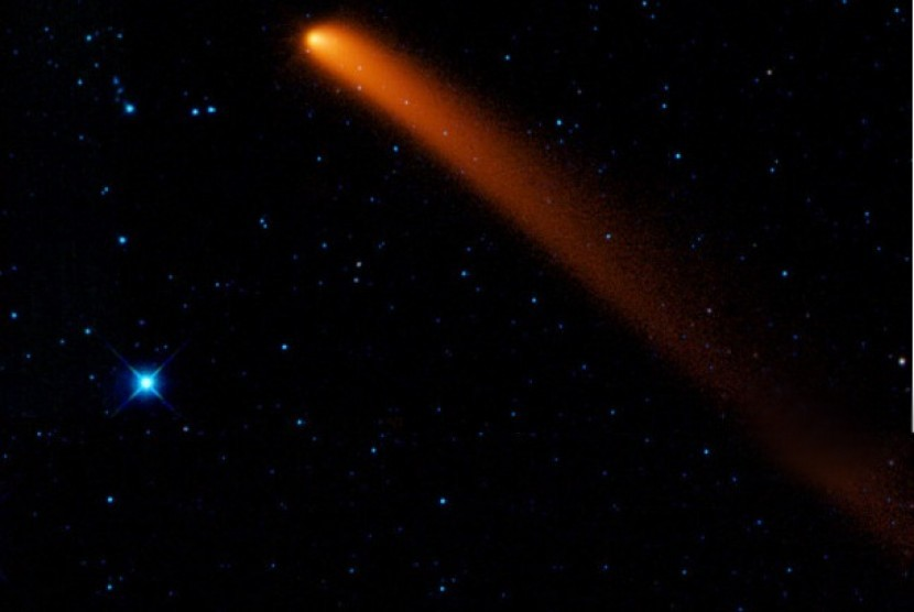 Komet (ilustrasi)