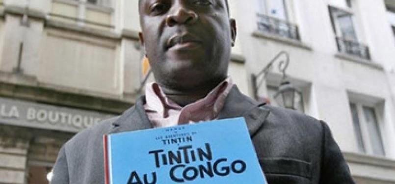 Komik Tintin di Kongo