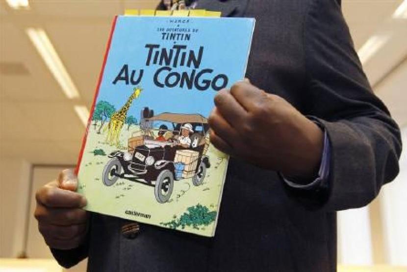 Komik Tintin in Congo