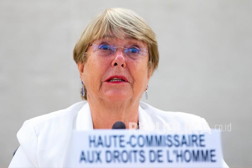 Komisaris Tinggi PBB untuk Hak Asasi Manusia Michelle Bachelet