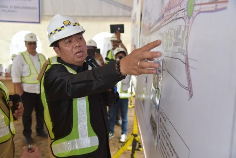 Komisi V kawal pembangunan Jembatan Landak 2 Pontianak.