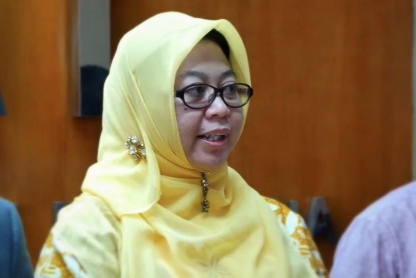 Komisioner Bidang Pornografi dan Cybercrime Komisi Perlindungan Anak Indonesia (KPAI) Margaret Aliyatul Maimunah