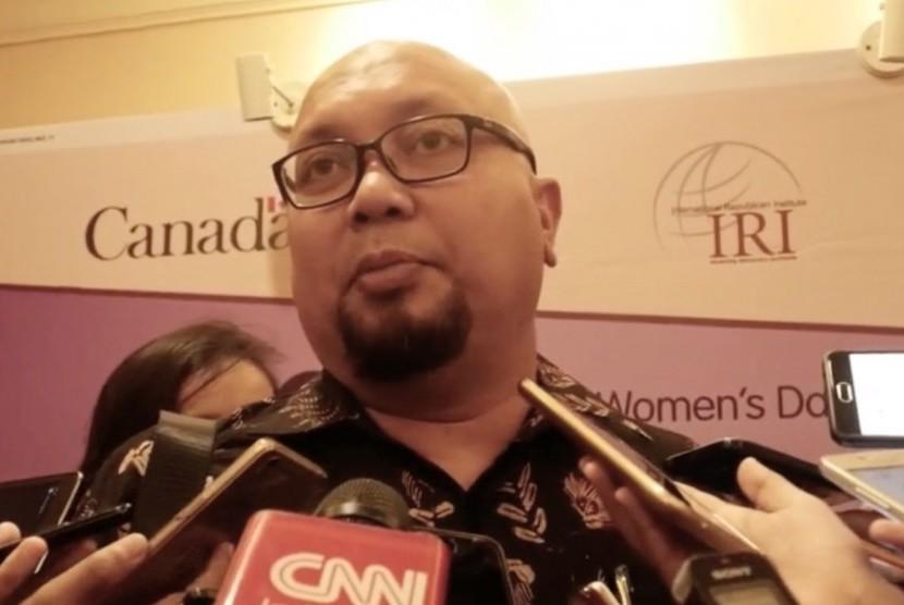 Komisioner Komisi Pemilihan Umum (KPU) Ilham Saputra