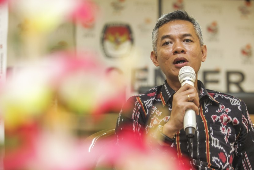 Komisioner Komisi Pemilihan Umum (KPU) Wahyu Setiawan.
