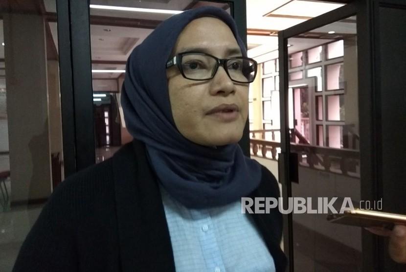 Komisioner KPU,  Evi Novida Ginting Manik