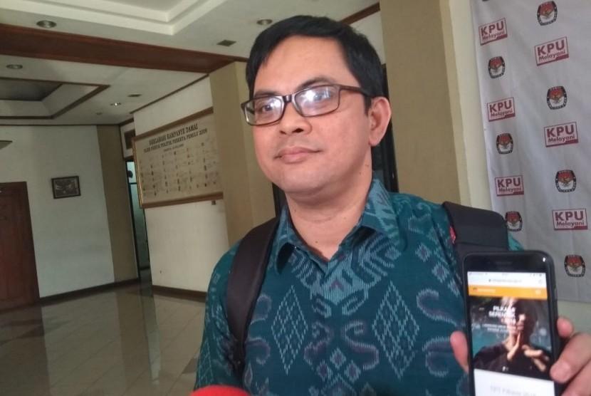 Komisioner KPU, Viryan.