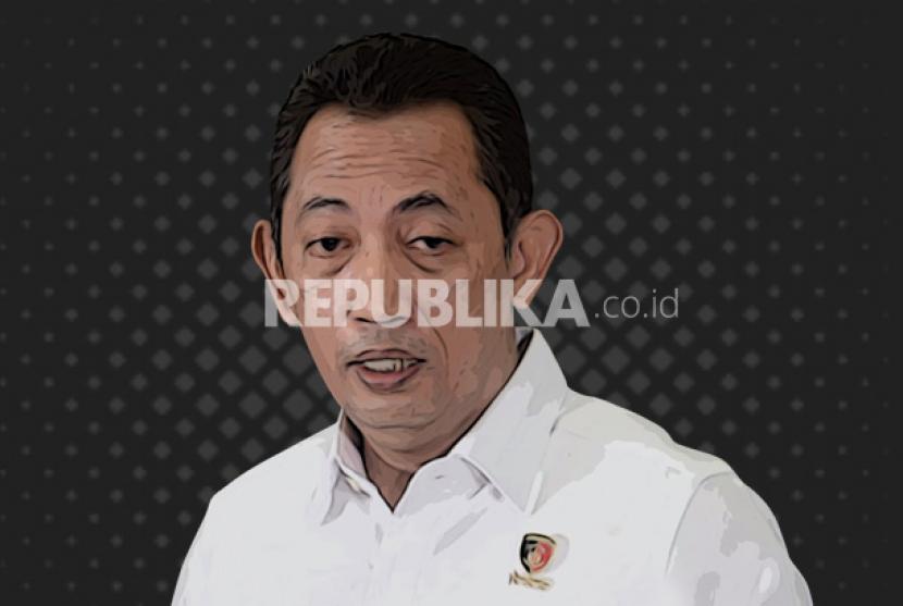Kapolri) Jenderal Polisi Listyo Sigit Prabowo