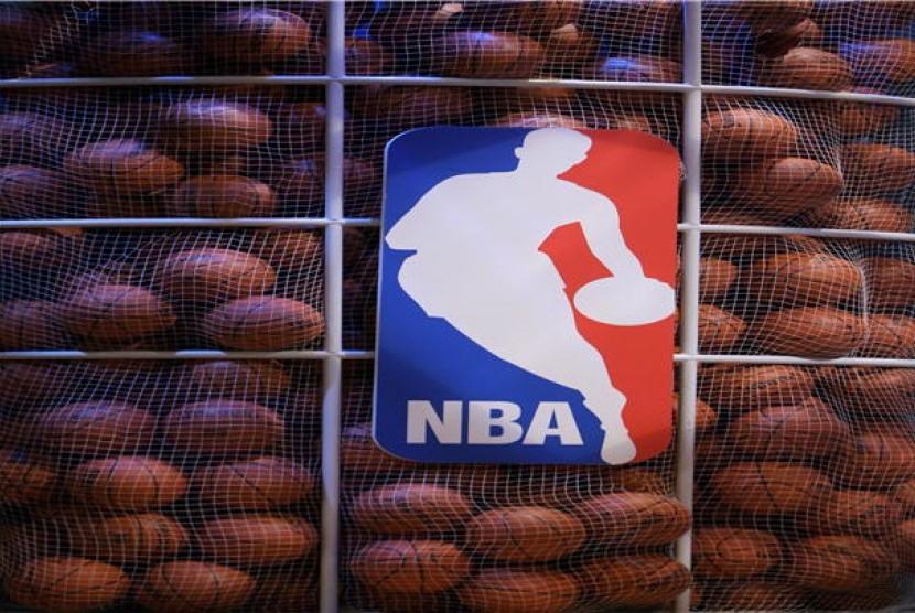 Kompetisi basket NBA (ilustrasi)