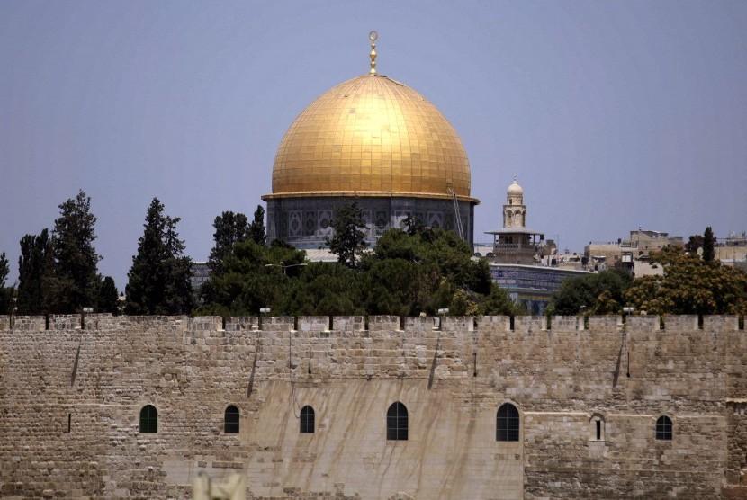 Al Aqsa mosque complex in Jerusalem.