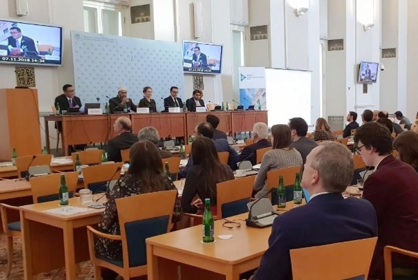 Konferensi Solusi Perdamaian Interfaith dan Interkultural Konflik di Praha, Ceko