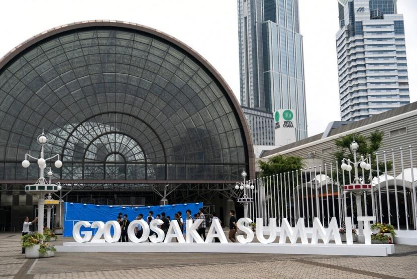 Konferensi Tingkat Tinggi (KTT) G-20 akan berlangsung pada 28-29 Juni 2019 di Osaka, Jepang.