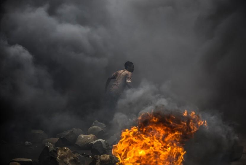 Konflik melanda Burundi (ilustrasi)