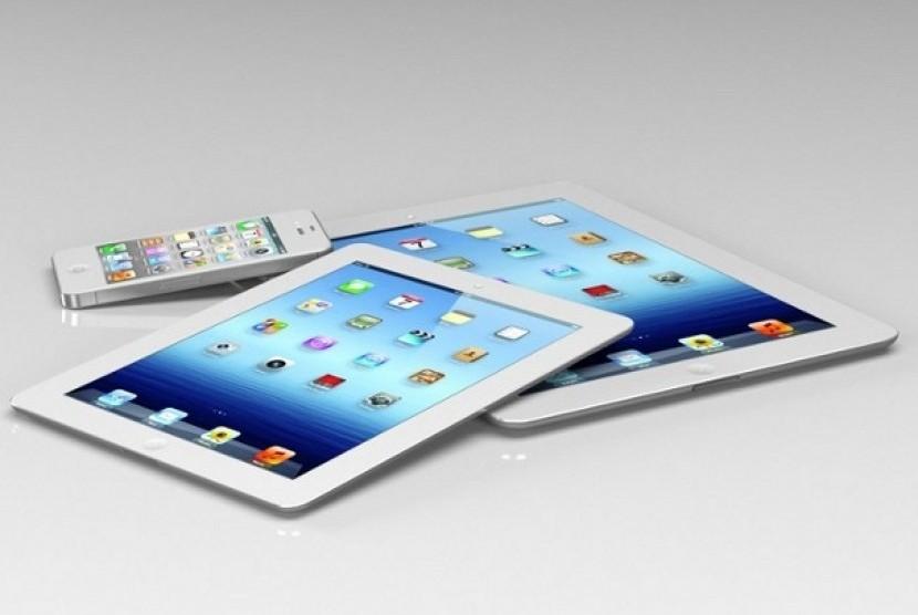 Konsep desain iPad mini berukuran 7,85 inchi