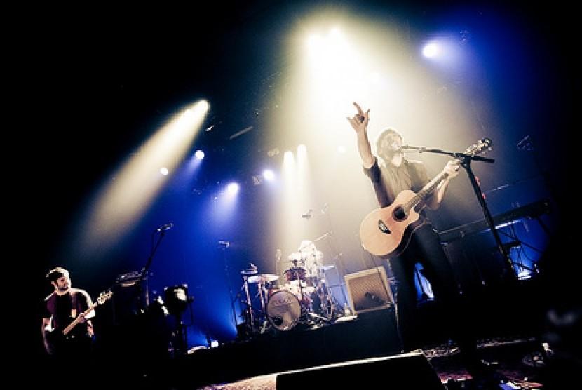 Konser musik (ilustrasi).