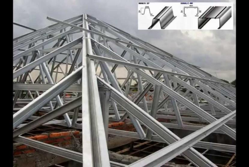 Atap Sd Roboh Semarang Evaluasi Penggunaan Baja Ringan Republika Online