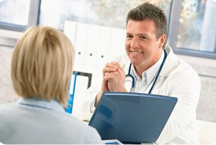 Konsultasi dokter/ilustrasi